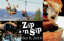 Zip 'n Sip Fun! October 6, 2019 - Don't Miss Out!